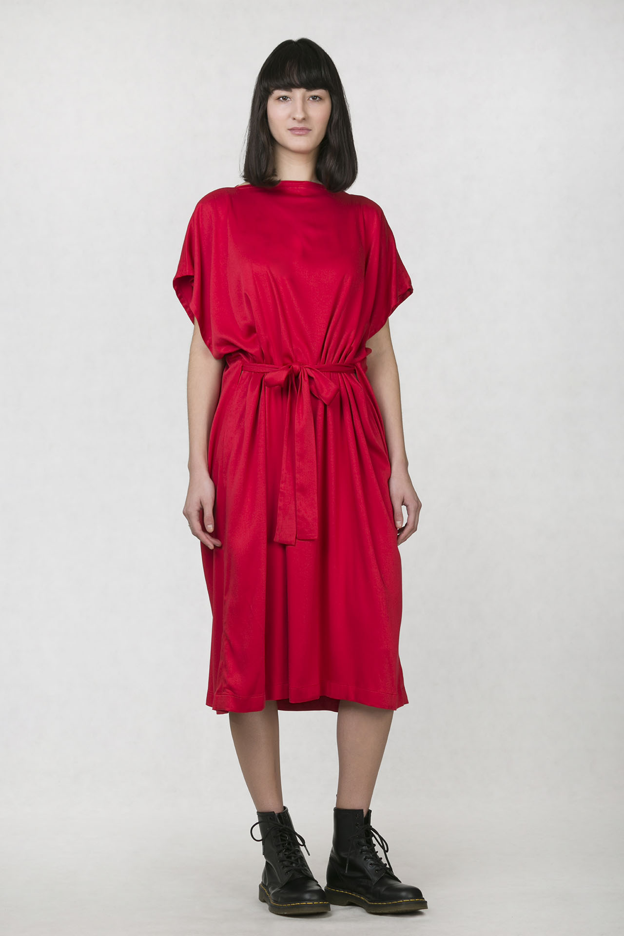 ONEDAY caesar dress red - one-day 072e963998