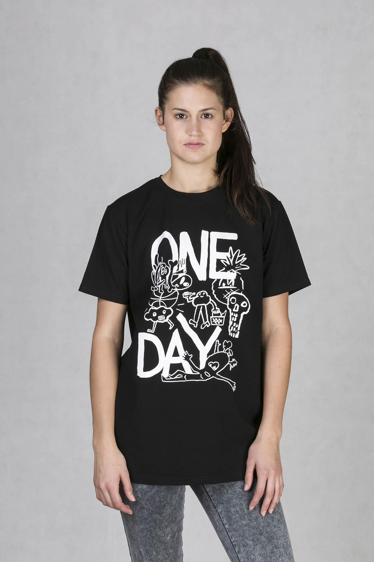 ONEDAY t-shirt boyfriend BULB . Pánské triko s originálním potiskem ... a274be9b6b