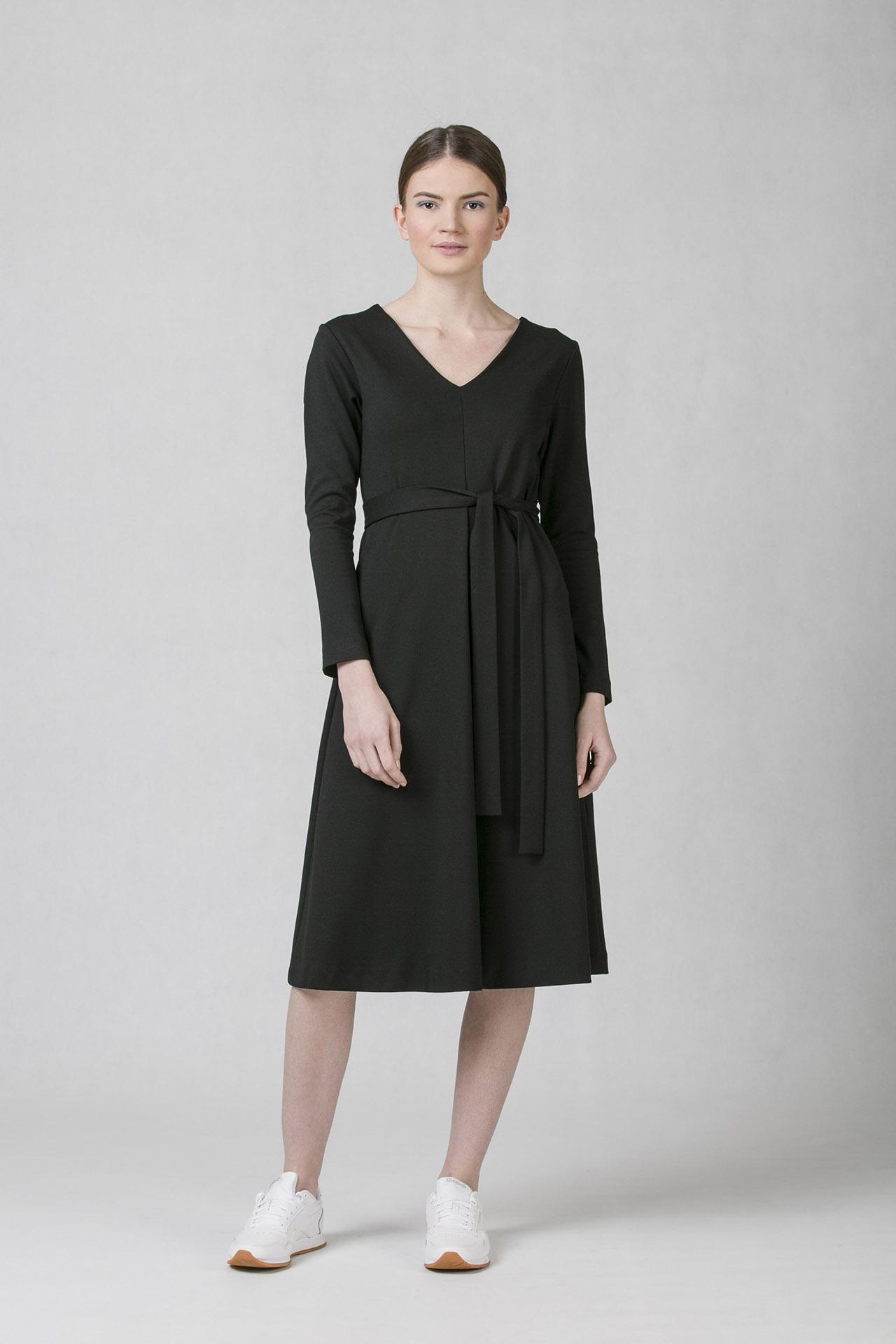 Společenské šaty s áčkovou sukní Oneday v midi délce f4e4a69aad