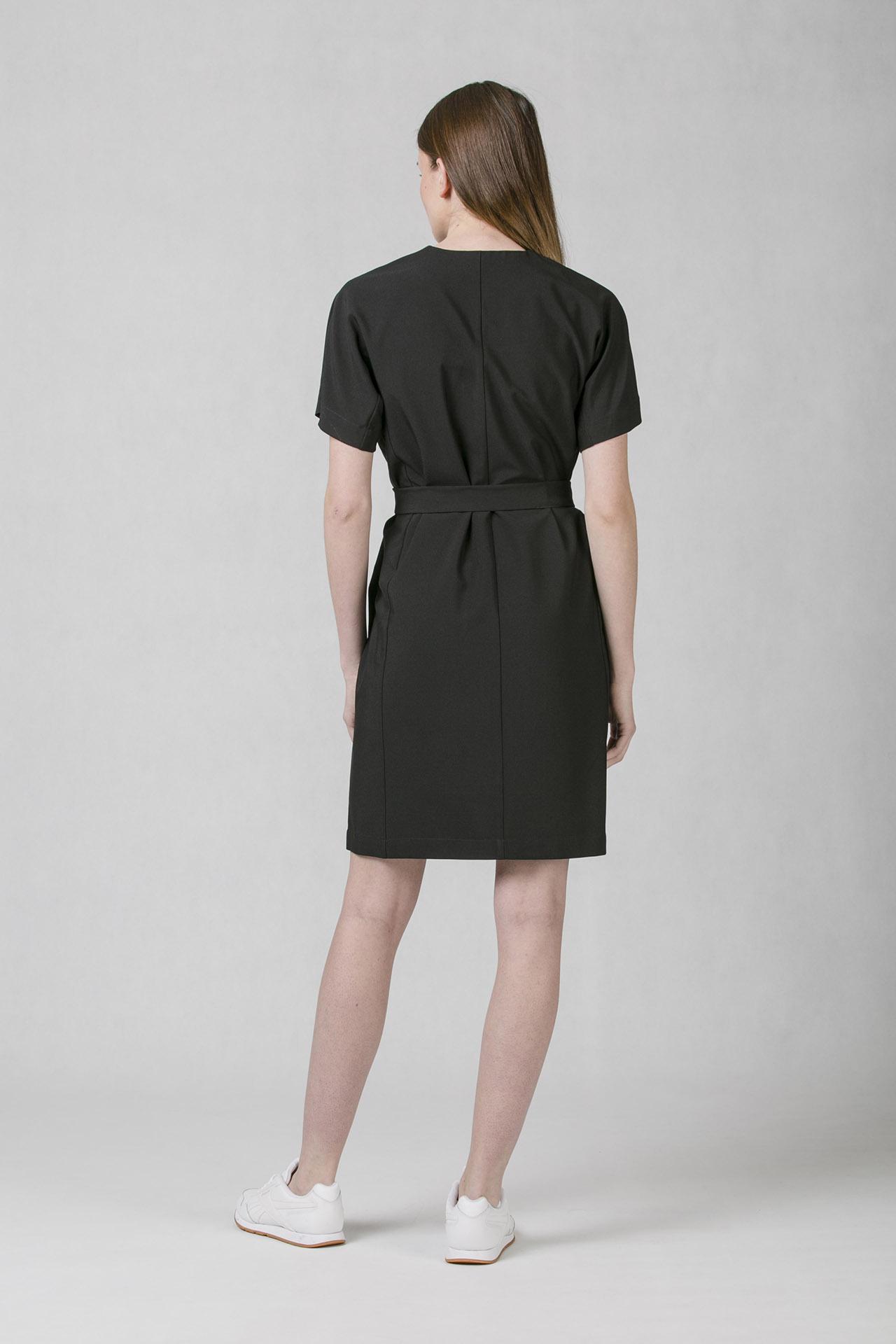 Společenské šaty černé Oneday s decentním V výstřihem 80448a387a