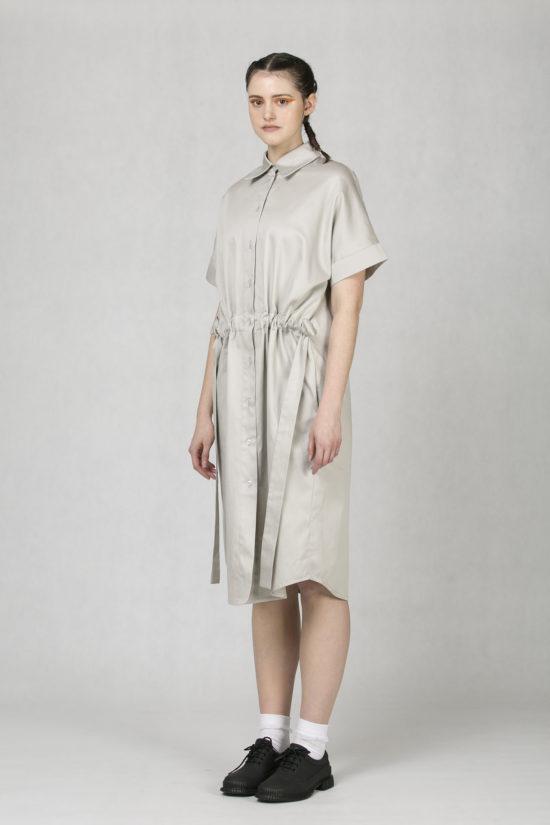 5836349e79ed Košilové šaty šedé od české módní značky Oneday