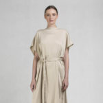Caesar dress beige