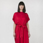 Caesar dress red