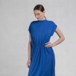 Variable belt dress blue