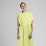 Variable belt dress green