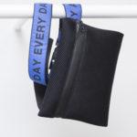 Cross body bag black/blue