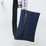 Cross body bag blue/white