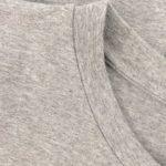 Šaty oversized světle šedé